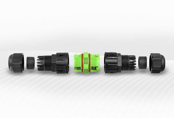 DF ELECTRIC Connecteur étanche 3 pôles 2,5 mm²
