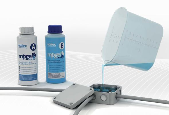 DF ELECTRIC Flacon gel isolant ETELEC